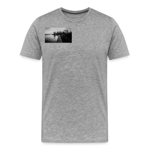 Manhattan Bridge Walkway T-shirt - Men's Premium T-Shirt