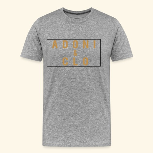 Adoni & Clo Simple Rectangle - Men's Premium T-Shirt