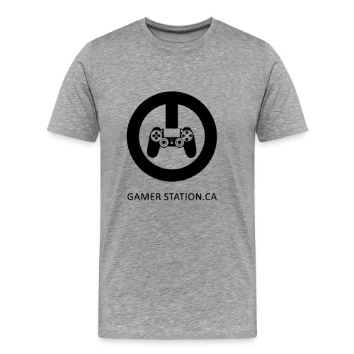 GamerStation.ca logo - Men's Premium T-Shirt