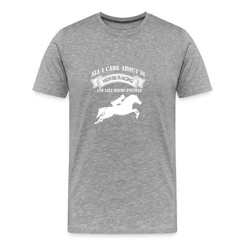 Horse Racing - Men's Premium T-Shirt