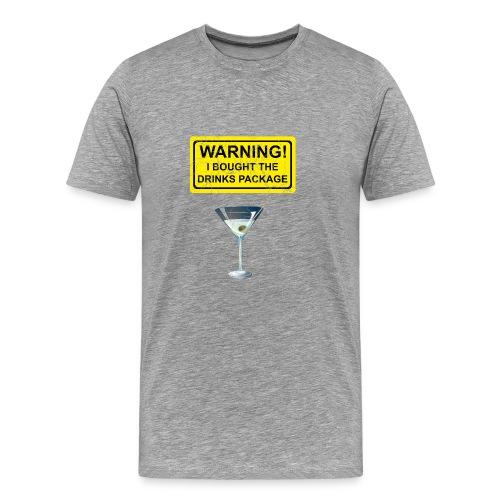 Drinks package shirt - Men's Premium T-Shirt