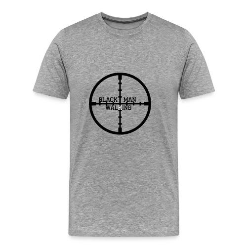 Black Man Walking - Men's Premium T-Shirt