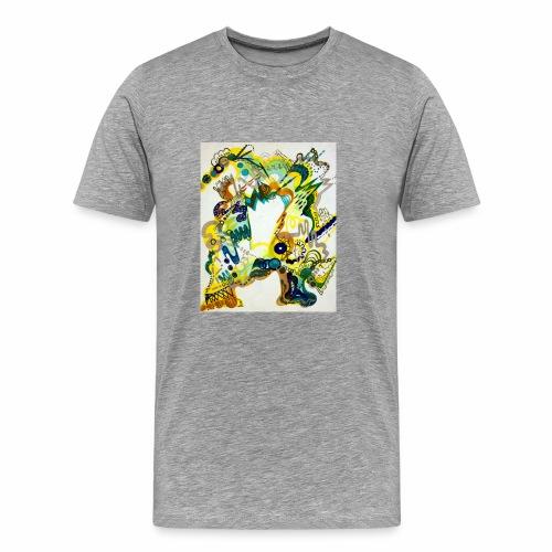 monster chaos - Men's Premium T-Shirt