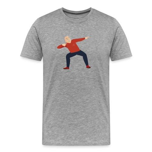 Einstein dancin' - Men's Premium T-Shirt