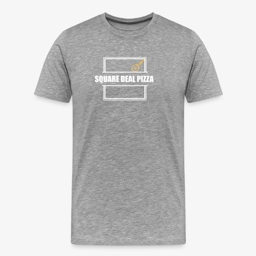 Square Deal Pizza Modern - Men's Premium T-Shirt