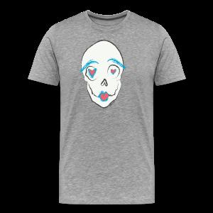 Kissing skull - Men's Premium T-Shirt