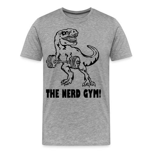 The Nerd Gym - Max Rex - Men's Premium T-Shirt