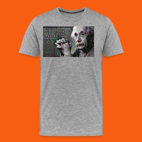 ES1 Einstein Quote - Men's Premium T-Shirt