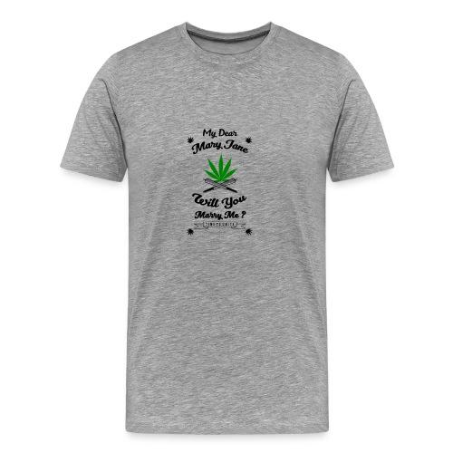 Mary Jane Weed 420 Marijuana - Men's Premium T-Shirt