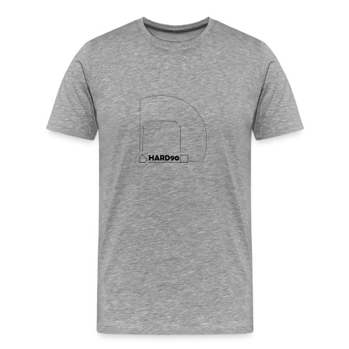 Hard 90 field - Men's Premium T-Shirt