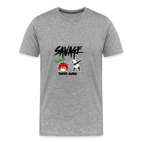 LUCKY MT logo - Men's Premium T-Shirt