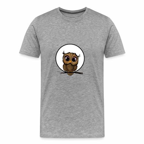 RB Cute Owl - Men's Premium T-Shirt