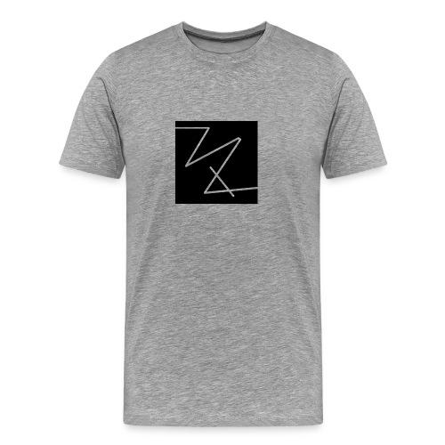 classic logo (black) - Men's Premium T-Shirt