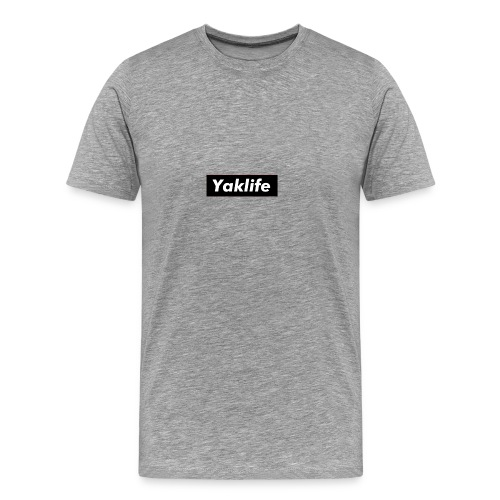 YAKLIFE'S MERCH - Men's Premium T-Shirt