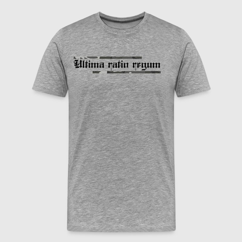 ULTIMA RATIO REGUM - Men's Premium T-Shirt