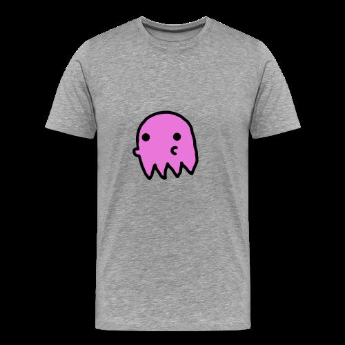Pink Ghost - Men's Premium T-Shirt