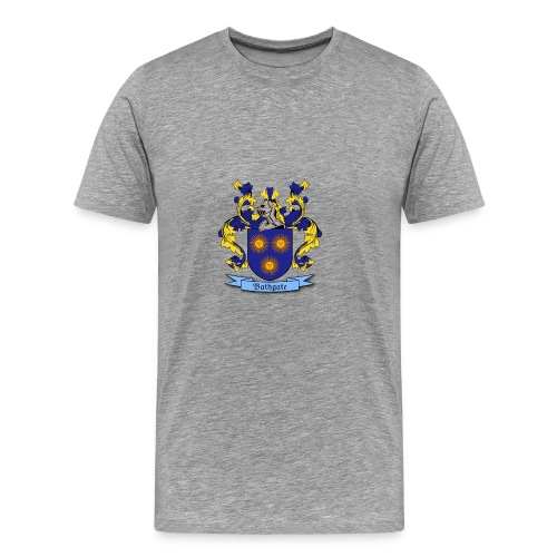 Bathgate Family Crest - Men's Premium T-Shirt