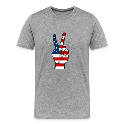 Victory Day USA T-shirt - Men's Premium T-Shirt
