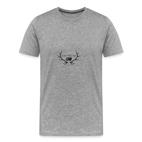 Hunt with the lord - Men's Premium T-Shirt
