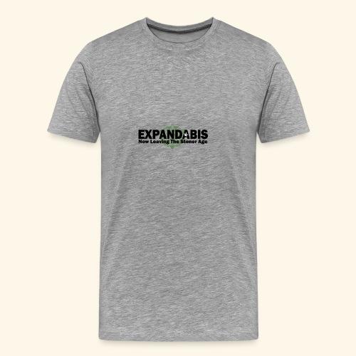 Expandabis Black Logo - Men's Premium T-Shirt