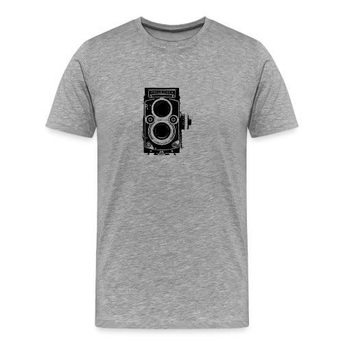 Rolleiflex Twin Lens Reflex Oldschool Film - Men's Premium T-Shirt