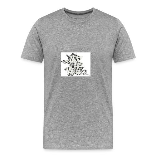 otw_final_graffiti_1 - Men's Premium T-Shirt