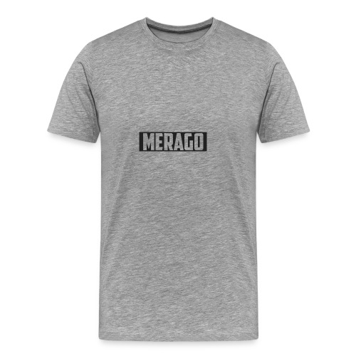 Transparent_Merago_Text - Men's Premium T-Shirt
