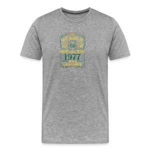 BORN In 1977 Year of Legends 40th - Men's Premium T-Shirt