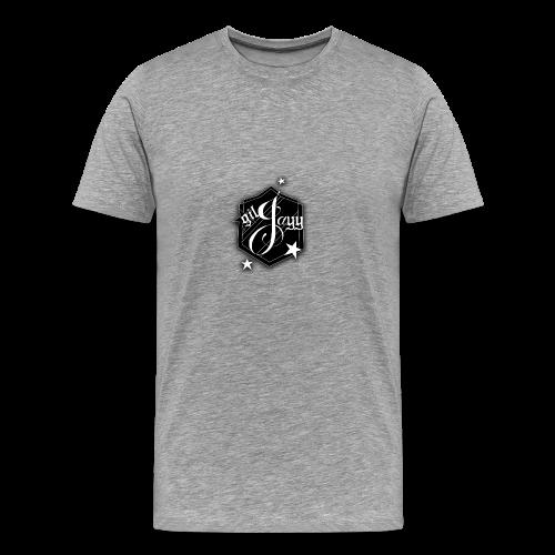 GilJayy Badge (White) - Men's Premium T-Shirt