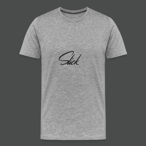 Slick Logo - Men's Premium T-Shirt
