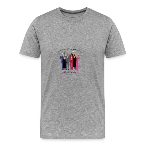 The Order of the Pantsuits: Hillary's Army - Men's Premium T-Shirt