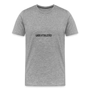 Unsocialized - Men's Premium T-Shirt