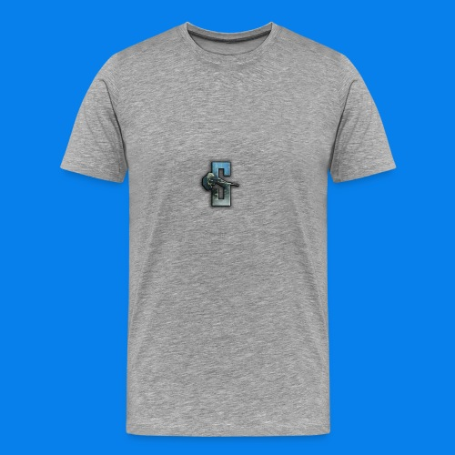 Speedy Logo 2 - Men's Premium T-Shirt
