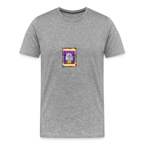 DayDreaming Cat - Men's Premium T-Shirt
