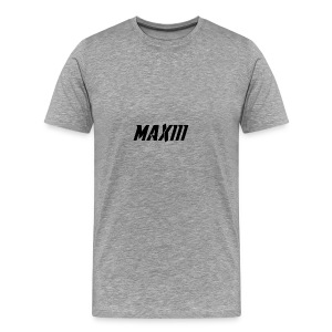 Maxiii Official Shirt Logo! - Men's Premium T-Shirt