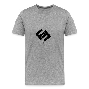 Fluid Logo - Men's Premium T-Shirt