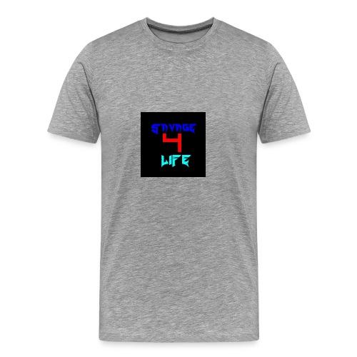 Savage 4 Life - Men's Premium T-Shirt