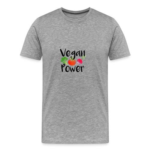 Vegan Power Baby Gift - Men's Premium T-Shirt