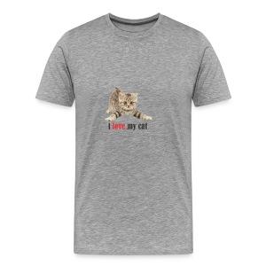 lovecat - Men's Premium T-Shirt