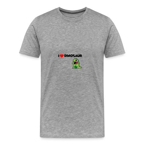 I LOVE DINOSAUR - Men's Premium T-Shirt
