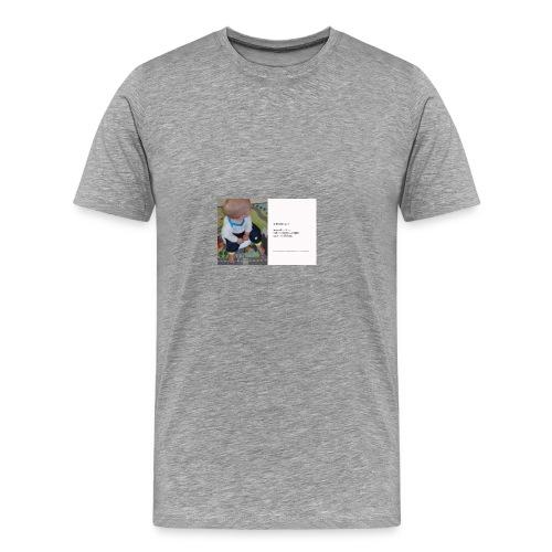 Op het potje gaan? - Men's Premium T-Shirt