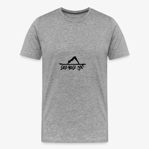 SUP YOGI - dark - Men's Premium T-Shirt