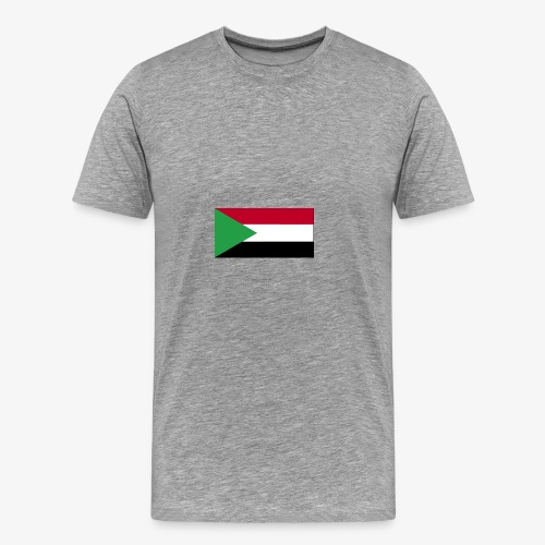 Sudan flag - Men's Premium T-Shirt