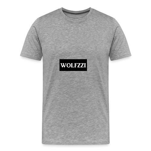 wolfzzishirtlogo - Men's Premium T-Shirt