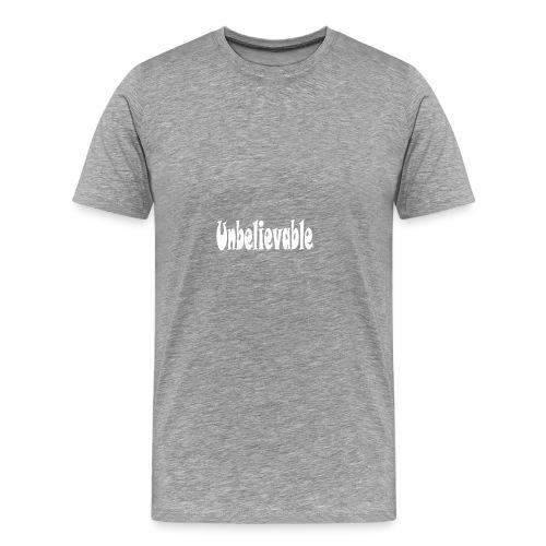 T-shirt (black) - Men's Premium T-Shirt