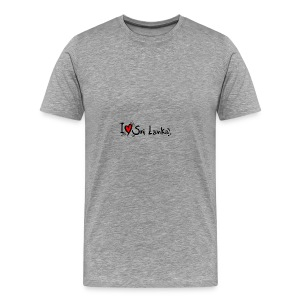I love Sri Lanka tees - Men's Premium T-Shirt