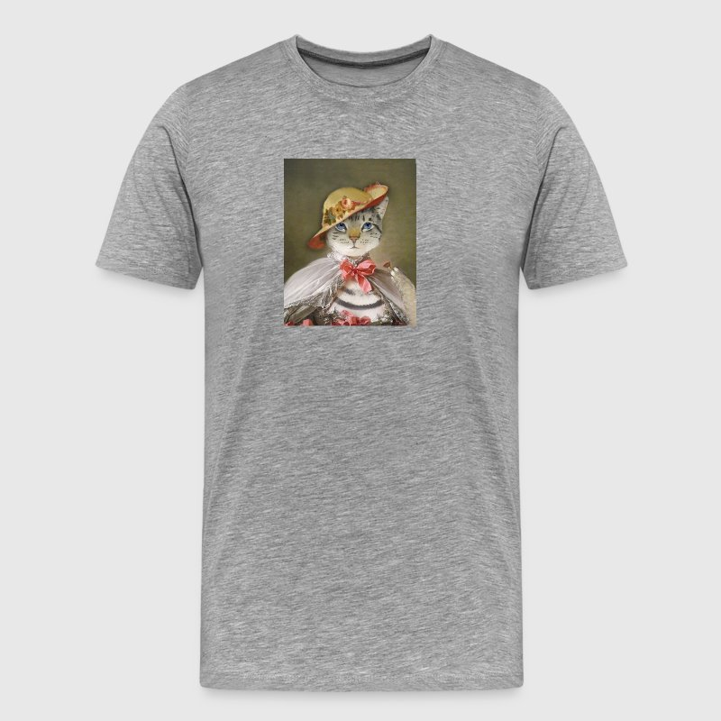 Pompadour Cat - Men's Premium T-Shirt