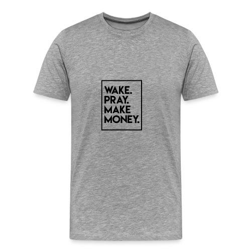 wakepray - Men's Premium T-Shirt