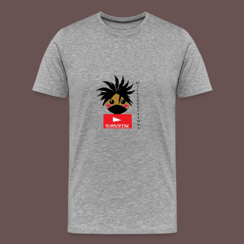 MilliesTVTime2 Subscribe - Men's Premium T-Shirt