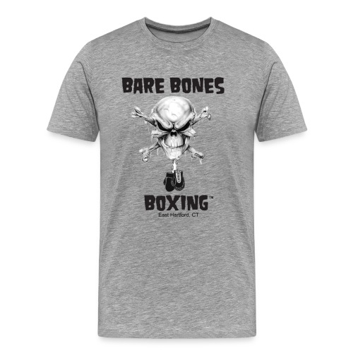 Bare Bones Boxing Logo - Men's Premium T-Shirt